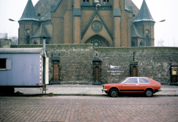 Versöhnungskirche Bernauer Straße, 12. Januar 1978